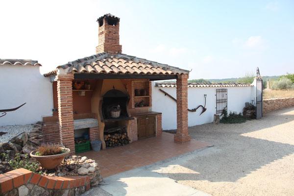 Barbacoas de exterior beautiful cocina exterior de verano - Barbacoa exterior ...